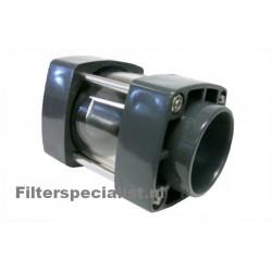 Druk PVC Kogelkraan 110mm