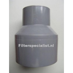 PVC verloop 50mm naar 38mm