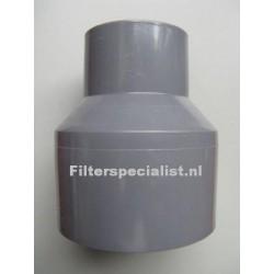 PVC verloop 50mm naar 38mm