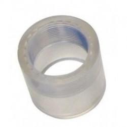 "Transparante Verloop Ring 50/63 x 1½"" Binnendraad"