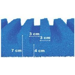 T-profiel Filterschuim 50 x 50 cm