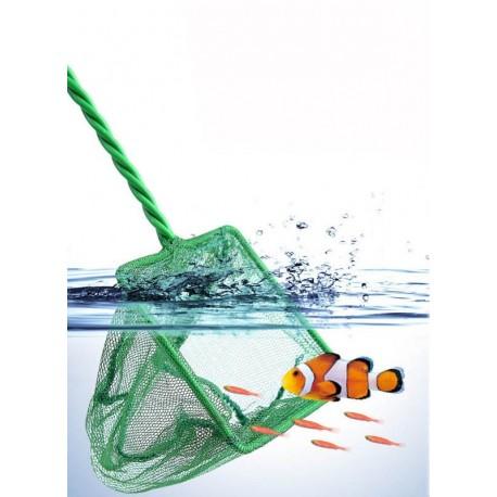 Visnet / Schepnet Voor Aquarium / Vijver 10 x 8 cm fijn Mazig Groen