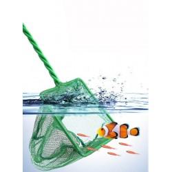 Visnet / Schepnet Voor Aquarium / Vijver 20 x 15 cm fijn Mazig Groen