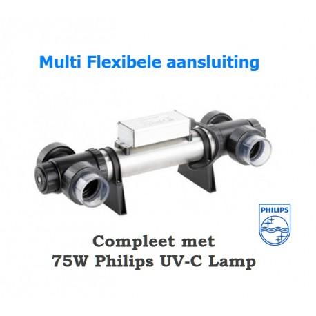 HUISMERK 75 Watt RVS UV-C Apparaat