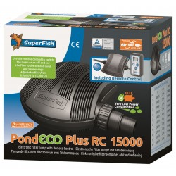 Superfish Pond ECO-Plus RC 15000 regelbare Vijverpomp
