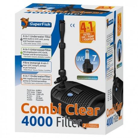 Onderwater Vijverfilter Combi Clear 4000